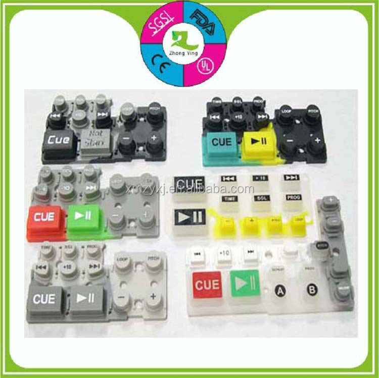 Custom Silicone Rubber Lock Button/Keypads