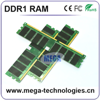Ram ddr1 2gb sodimm 1GB 256 MB 512MB ddr ram memory for desktop and laptop