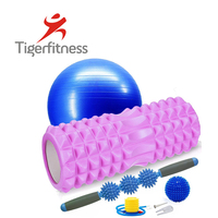 Tiger Fitness Natural Eco-Friendly high-density EVA 2 in 1 yoga hollowfoam roller