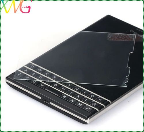For Blackberry Passport Clear Tempered Toughened Glass Screen Protector