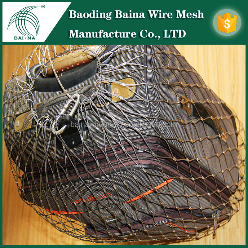 Woven Rope Mesh For Anti-theft Bags Anti-theft Rope Net Bags