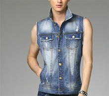 wholesale jean vest best seller jean vest blue jean vest for men