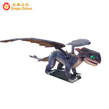 Simulation realistic animatronic silicone rubber toothless life size model for sale