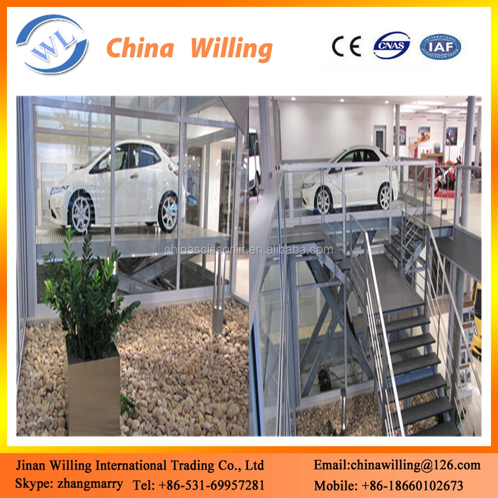 5 ton Hydraulic Scissor Car Mechanical and Automated Parking Lift Systems