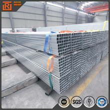 Z80 galvanized steel rectangular tube, weld steel square tube material specifications