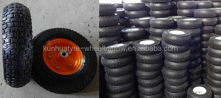 high quality competitive price new pattern 4.00-8 wheel barrow tyre and tube