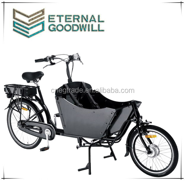 Seven speeds electric cargo bike/cargo tricycle bike/bakfiets electirc adult tricycle UB9015E