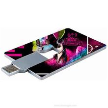 High quality free sample credit card 250gb usb flash drive