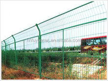 powder coated steel wire mesh fence panels