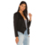 2017 Fashion Top Coat Sexy Blazer Lady Suit Outwear Women OL Formal Slim Jacket Black Jersey Blaser Plus Size