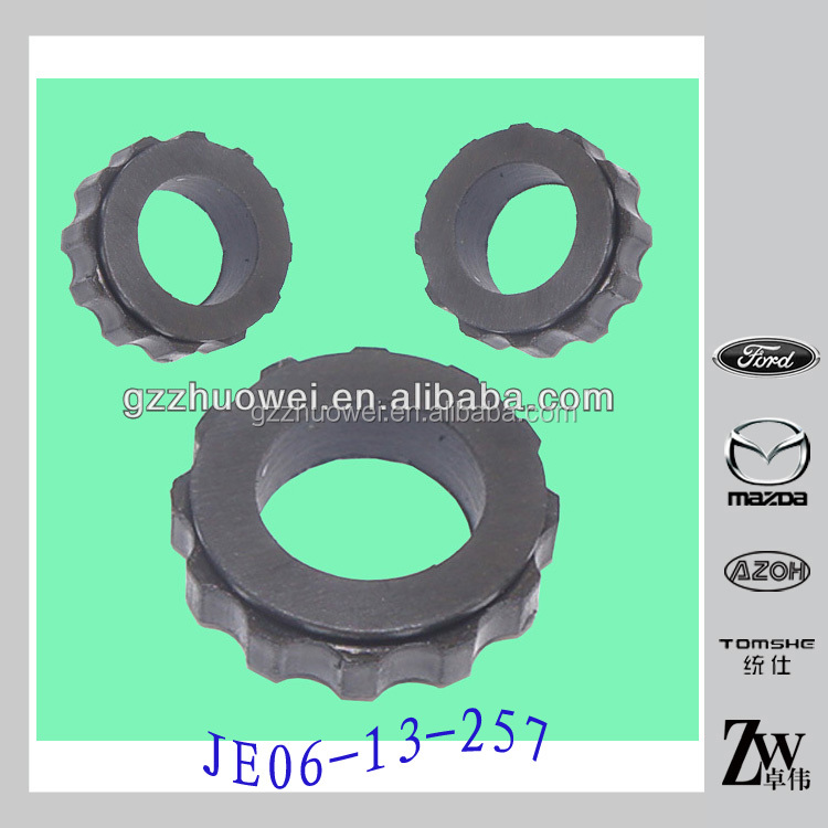 Cheap car accessories rubber injection insulator/<strong>O</strong> seal JE06-13-257 for MAZDA 323 BJ 1.8 made in China