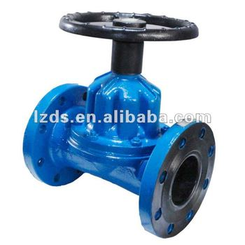 Manual Diaphragm Valve With Water Treatment