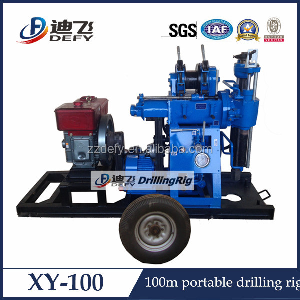 hydraulic mining small rock drilling rig for sale