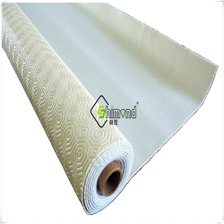 Table Protector with Felt Backing embossing and PVC material, non-woven cloth thickness 2.2 mm Table Protector
