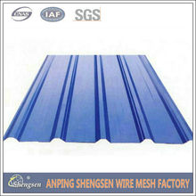 Long time produce and sale 28 gauge corrugated steel roofing sheet