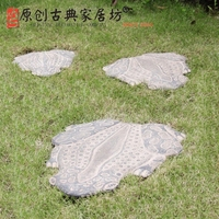 Polyresin Foot Stepping Stone For Garden