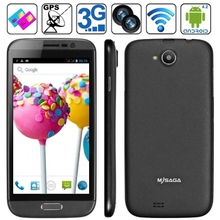Original MYSAGA T1 4GB Black, 3G Phablet, GPS + AGPS, Android 4.2.1, MTK6589 1.2GHz Quad Core, RAM: 1GB, 5.0 inch HD Capacitive
