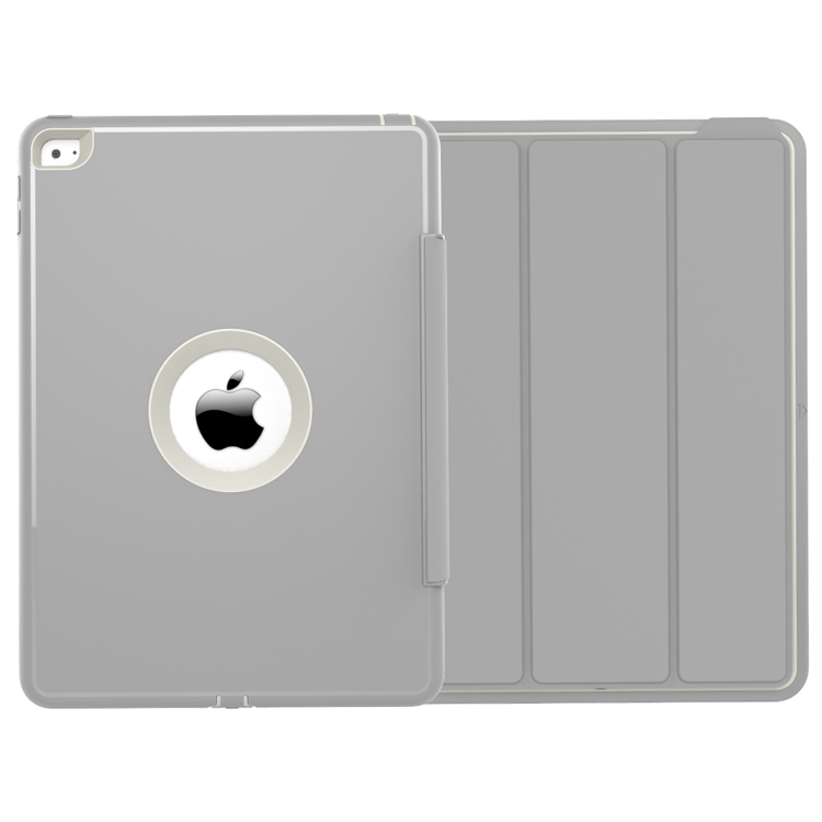 Guangzhou Wholesale Auto Wake Up cover case for ipad 6,pu leather for ipad case