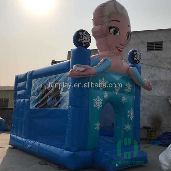 HI frozen playground air bouncer inflatable trampoline, pvc adult inflatable boucner