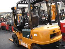 used China made HANGZHOU 3ton forklift HANGCHA AC30 TYPE FORKLIFT