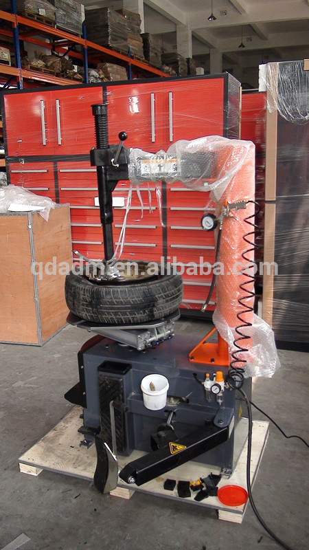 tire changer and balancer machine