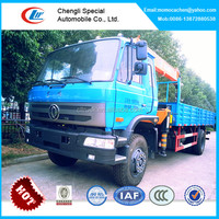 crane truck with 5tons,military truck with cranes,crane truck with flatbed for sale