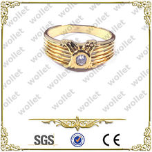 Gold Plated Copper Ring Costume Jewelry in Dubai
