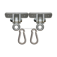 2 hole Max Heavy Duty Ductile Iron Swing Hanger Includes Snap Hook For Wooden Sets