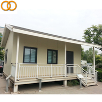 Modern light steel waterproof log cabins prefab house/container homes prefabricated luxury villa