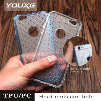 heating release mobile phone cover cellphone tpu pc case