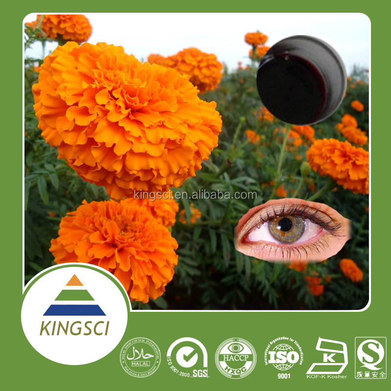 cGMP Manufacturer Supply Food Grade Pure Natural Liquid Lutein for Soft Capsule KS-01