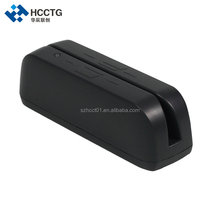 Factory Dual Face MSR Magnetic Stripe Card Skimmer Reader/writer With Two Heads HCC780