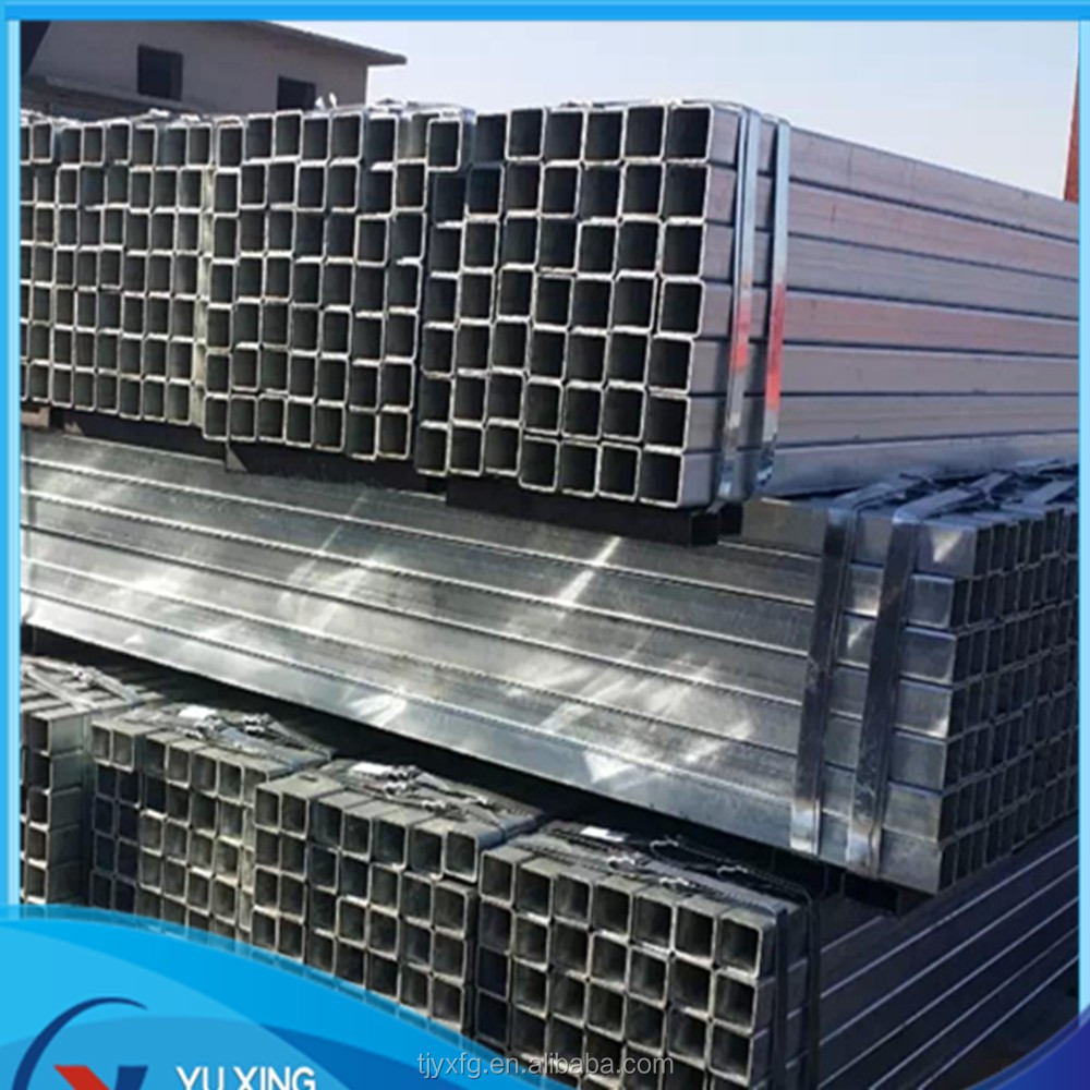 Galvanized welded carbon steel hollow section tube