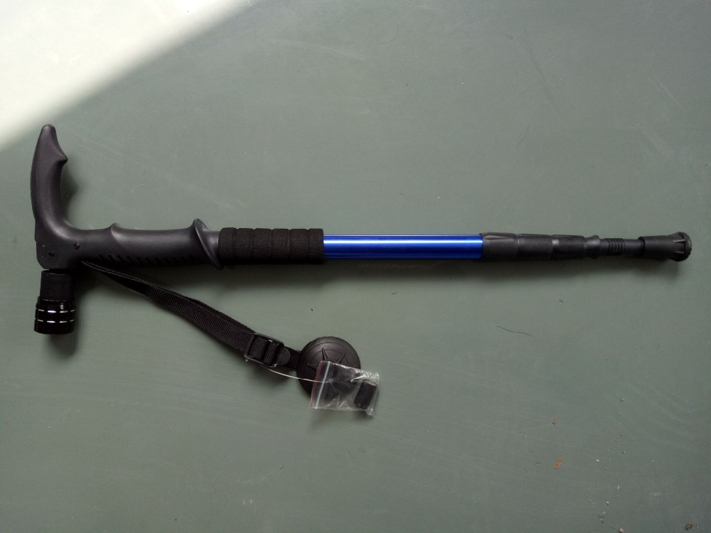Trekking stick with LED light
