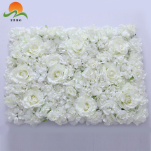 ZERO Silk Artificial Rose Flower Wall Flower Mat Fabric Hydrangea Artificial Flowers Wall