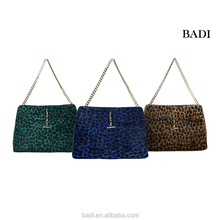 Manufaturer new brand name handbag ladies 2014, leopard women handbags