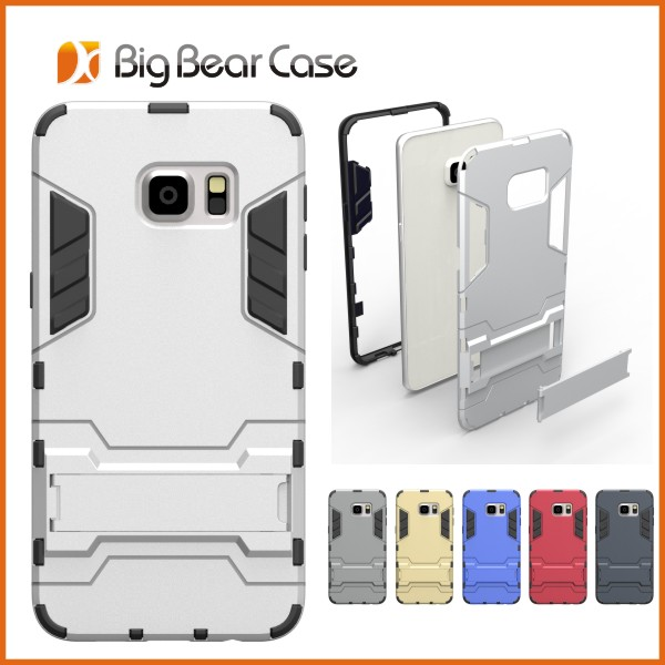Combo slim armor case cover for samsung galaxy s6 edge plus