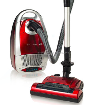 Top quality Real silent vacuum cleaner with blue LED and turbo brush