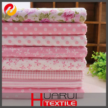 100% cotton poplin Digital print fabric textiles for home use