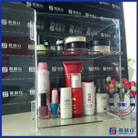 China supplier sales professional makeup mac cosmetic display stands