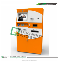 low cost machinery kiosk security