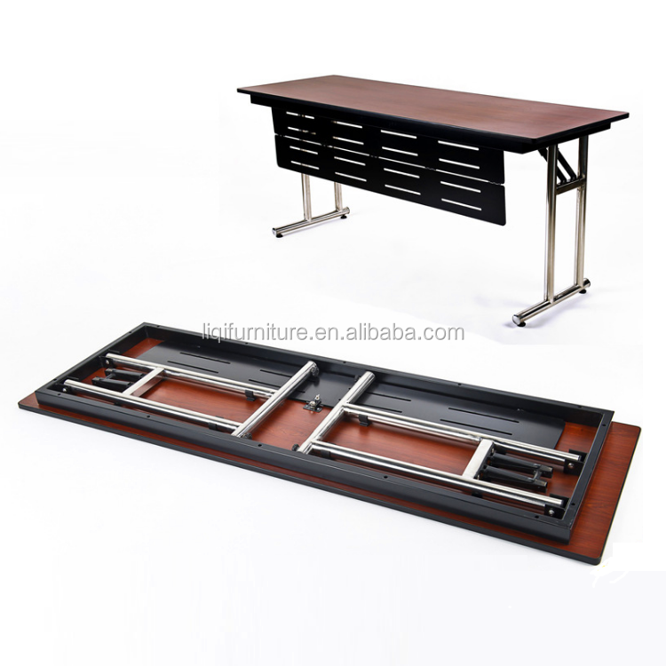 Seminar Meeting Conference IBM Training Study Table with Folding Leg and Laminate top