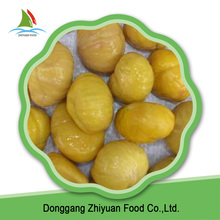 Best value healthy food reasonable price IQF frozen raw chestnut