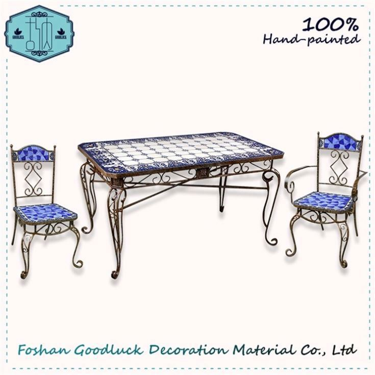 2017 New Design Blue Japanese Style Retro Dining Room Funiture Furniture