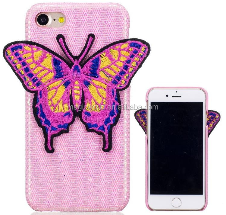Butterfly Stitching Personalized For iPhone Case