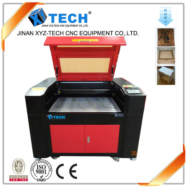 jinan 3d co2 companies looking for agents wood MDF acrylic leather laser cutting machine XJ6090 XJ1390 XJ1410