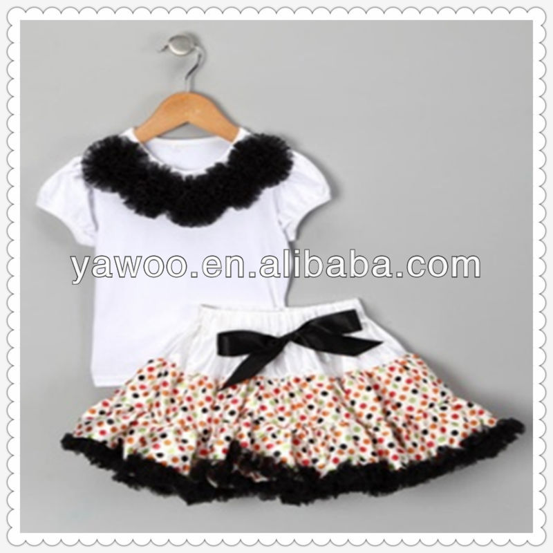 2015girls wholesale boutique clothing pettiskirt baby clothes garment outfit pettiskirts angel tutu skirts clothing sets