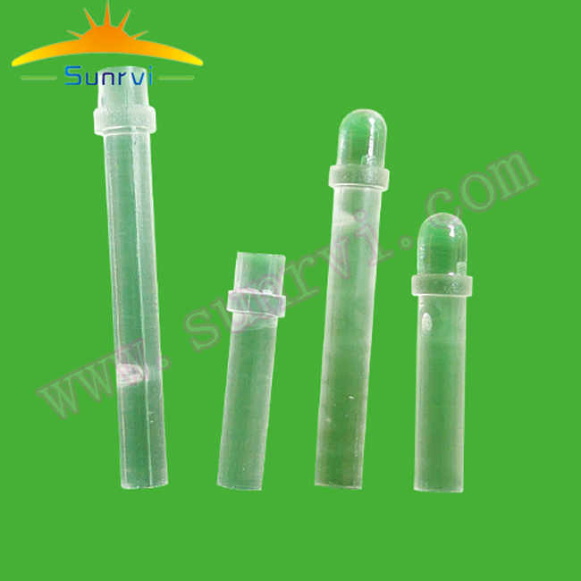 High quality LED light guide pipes 12MM transparent PC <strong>material</strong>