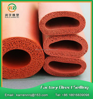 China goods import grade red color silicone foam tube