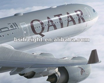 air cargo to Doha Qatar from guangzhou China by Qatar Airline